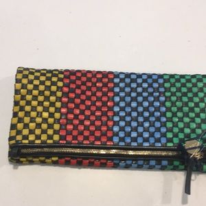 Clare V Fold Over Clutch w/Tabs